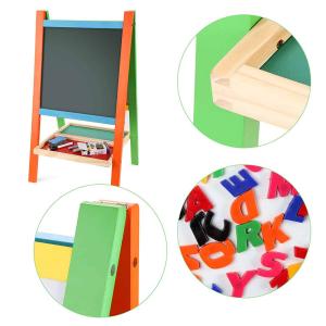 Tabla magnetica educativa cu doua fete si suport4