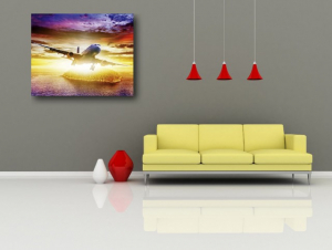 TABLOU CANVAS - AVION 011