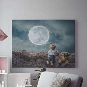 Tablou canvas -  MAGIA LUNII0