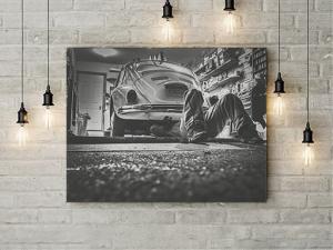 Tablou canvas - SERVICE AUTO [1]