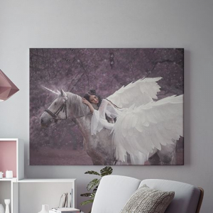 Tablou canvas - WINGED HORSE0