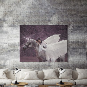 Tablou canvas - WINGED HORSE2