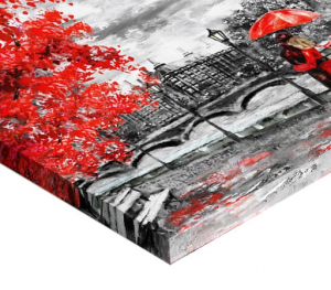 Tablou canvas - ZI PLOIOASA LA LONDRA2