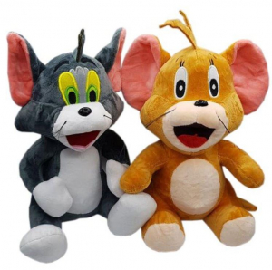 Set figurine pluș Tom și Jerry0