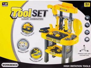 Set banc de lucru cu scule de jucărie pentru copii5