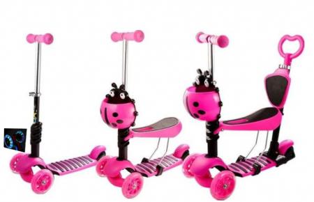 Trotineta evolutiva Scooter 5 in 1 pentru copii (4 culori disponibile)0