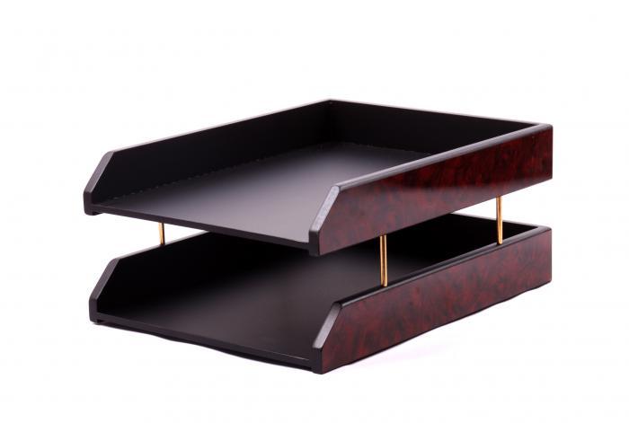Business Set multifunctional pentru birou Dark Burgundy cu 8 accesorii 2