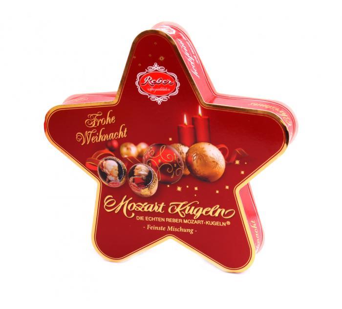 Cadou Winter Holiday Mozart Star & Scottish Fine Soaps 4