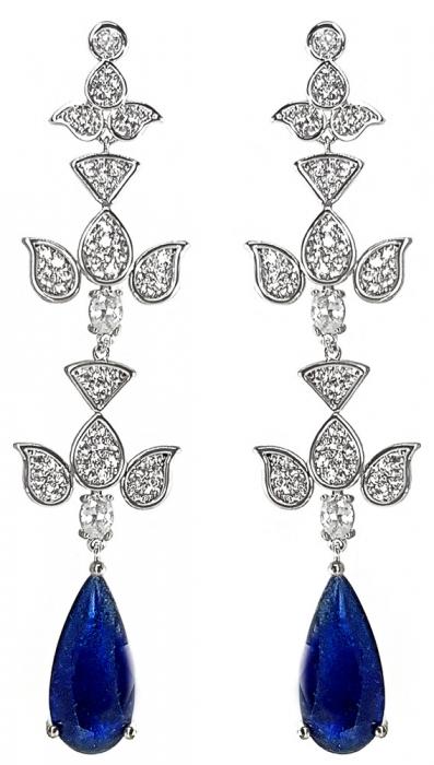 Cercei Chandelier Blue Orient [0]