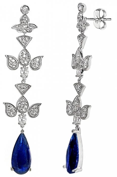 Cercei Chandelier Blue Orient [1]