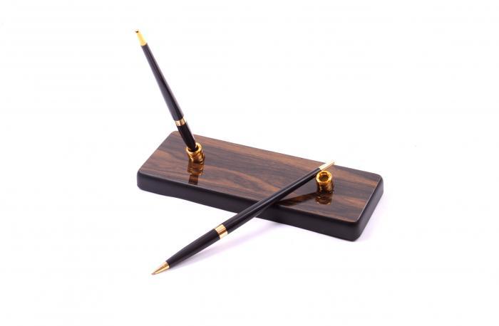 Set multifunctional pentru birou Antique Mahogany cu 8 accesorii 5