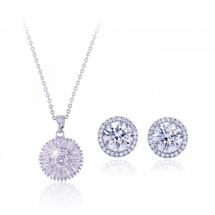 Set Colier si Cercei Solaire Diamonds 0