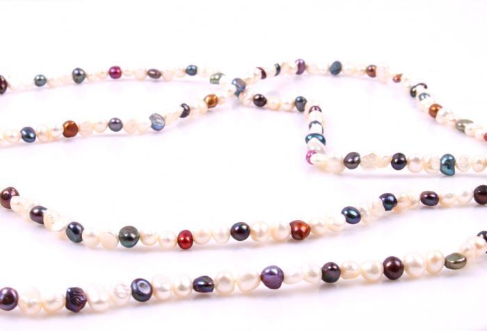 Colier Perle Borealy Super Long Fashion Multicolour 1