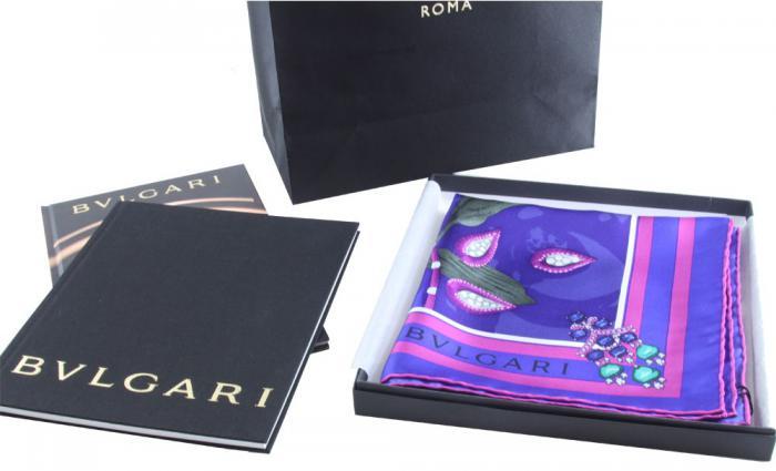 Bvlgari Scarf + 2 Books: Bvlgari Watches & Bvlgari Jewelry 3