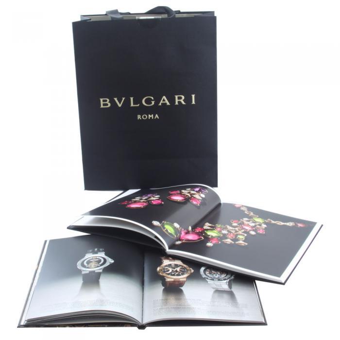 Bvlgari Scarf + 2 Books: Bvlgari Watches & Bvlgari Jewelry 4
