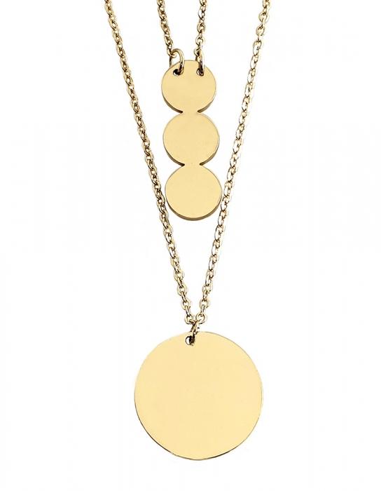 Set Colier si Bratara Delicate Gold by Borealy [1]
