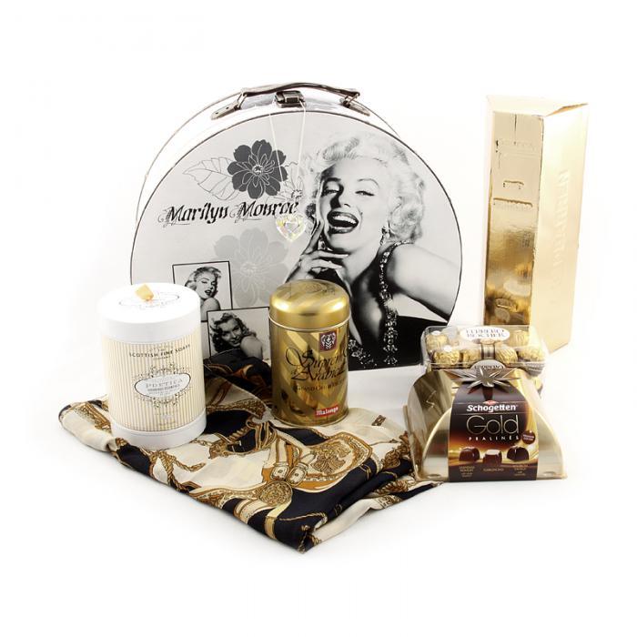 Marylin Monroe Golden Dream Gift Set-big