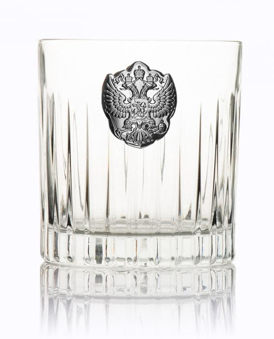 Whisky Crystal & Argint Set for Two by Valenti - Made in Italy 3