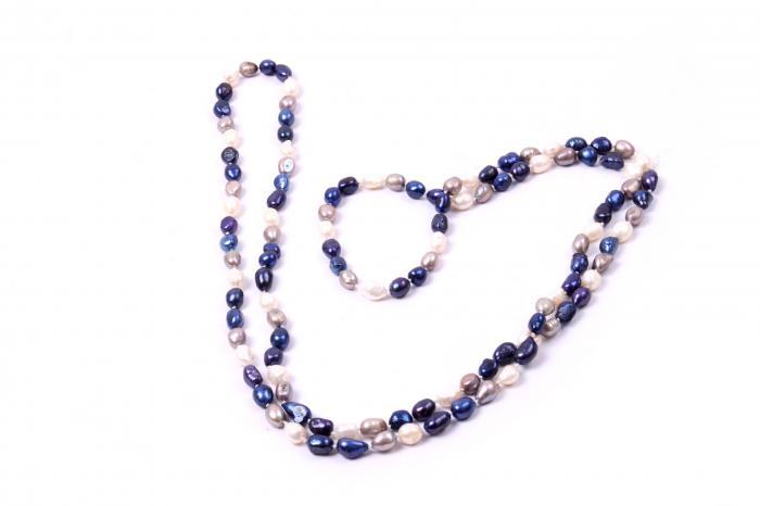Colier Perle Naturale Super Long Elegance 150 cm 2