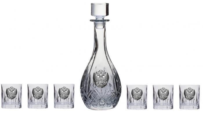 Vodka Eagle for Six by Valenti - Made in Italy & Smirnoff Gold 23K 5