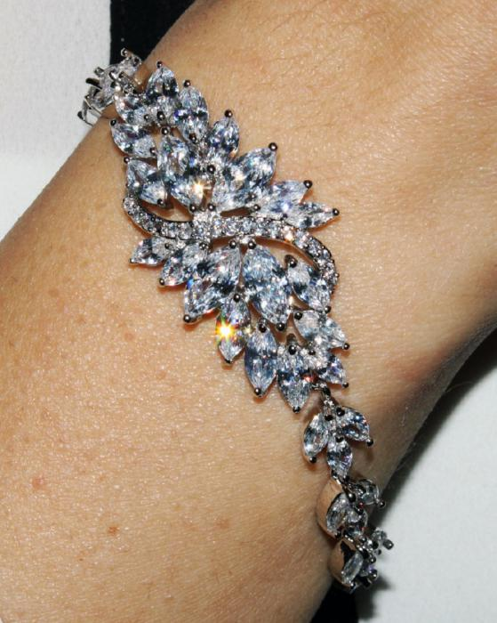 Bratara Borealy Dolce Crystals Luxury 1