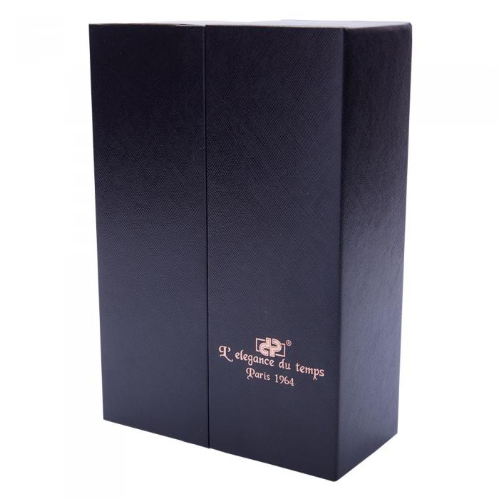 Cadou Gentlemen Desk Pix și Stilou Black & Pink Gold Harmonic Box 3