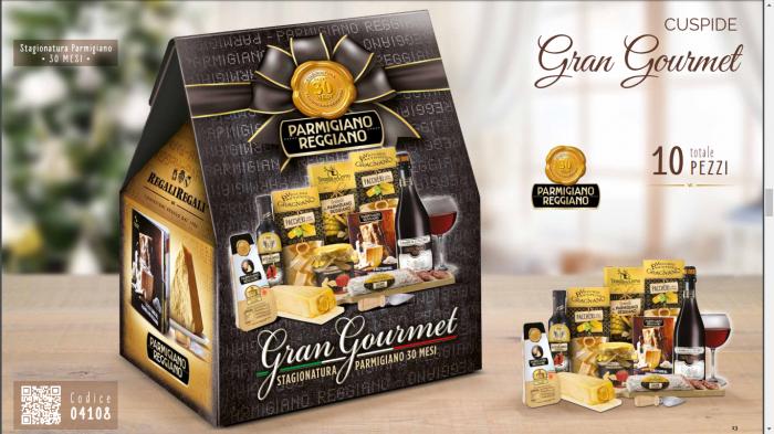Cos de Craciun Italian Gourmet - 10 piese, made in Italy 1
