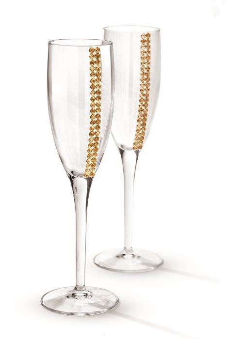 Regina Champagne Glasses by Chinelli-big