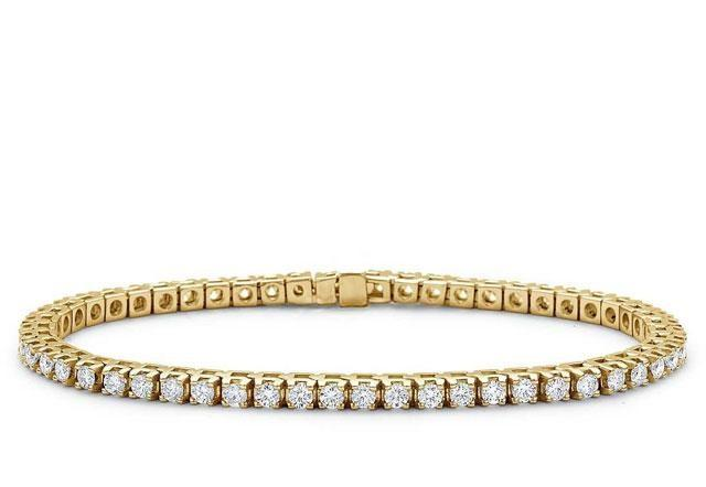 Set Rafined Gold Lady, Bratara Tennis Classic si Trandafir Aur 24k-big