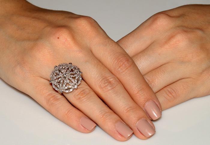 Inel Borealy Simulated Diamonds Paris Lights Marimea 6 2