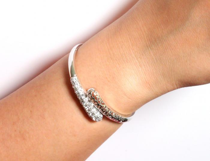 Brăţară Borealy Bangle Maroc White 1