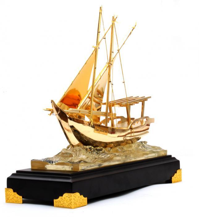 Machetă Golden Ship 24 karate 2