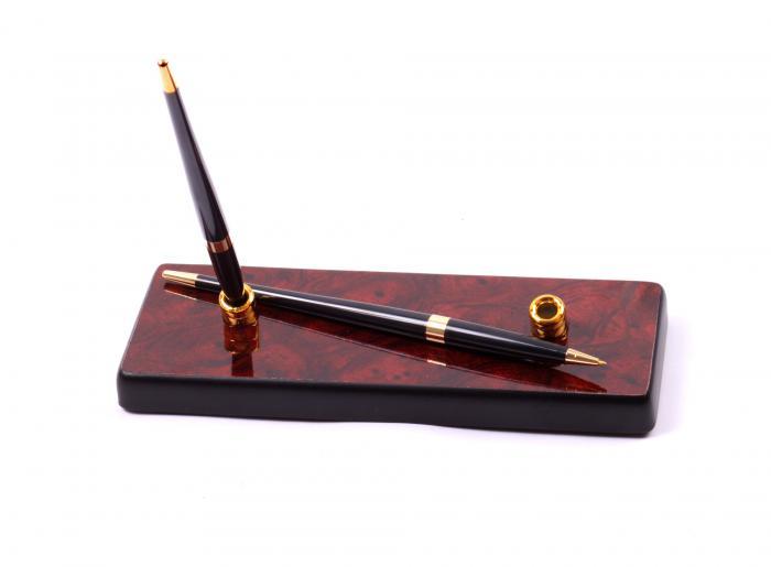 Business Set multifunctional pentru birou Dark Burgundy cu 8 accesorii 8