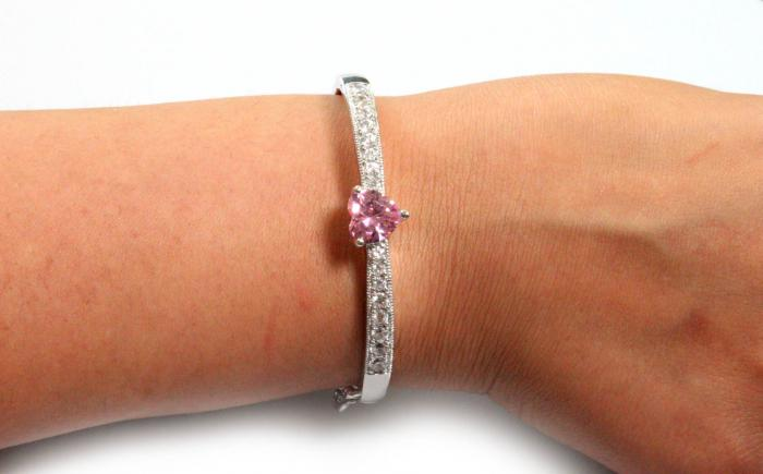 Brăţară Borealy Bangle Pink Love 1