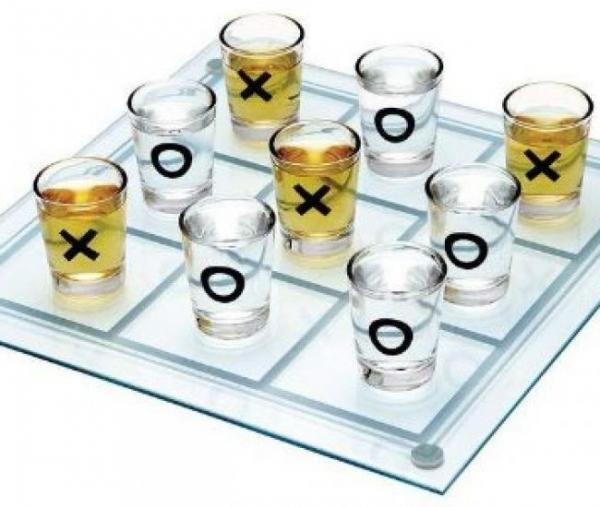 Cadou Joc Drinking Fun X si O-big