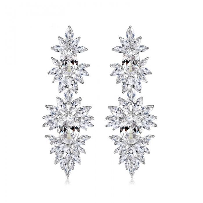 Cercei Mireasa Opulence Crystal 4