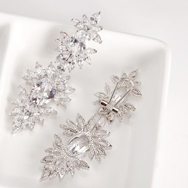 Cercei Mireasa Opulence Crystal 2