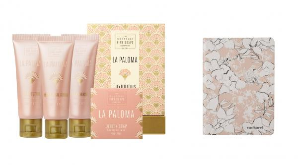 Cadou Pink Cacharel & Cosmetice Scottish Fine Soaps 0