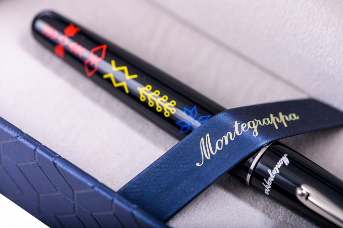 Elmo 01 Roller Insemne Romanesti by Montegrappa, Made in Italy 2