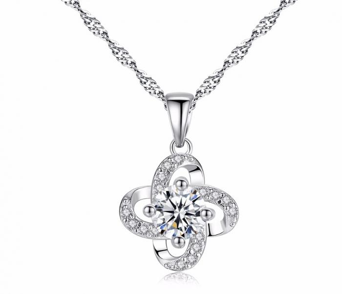 Colier Borealy Argint 925 Flower Petals-big