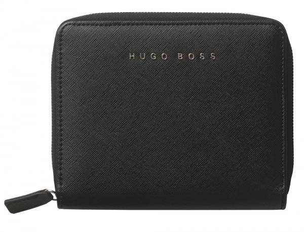 Premium Business Gift Set Mapa Conferinta Hugo Boss A6 si Butoni Tourbillon Silver 3