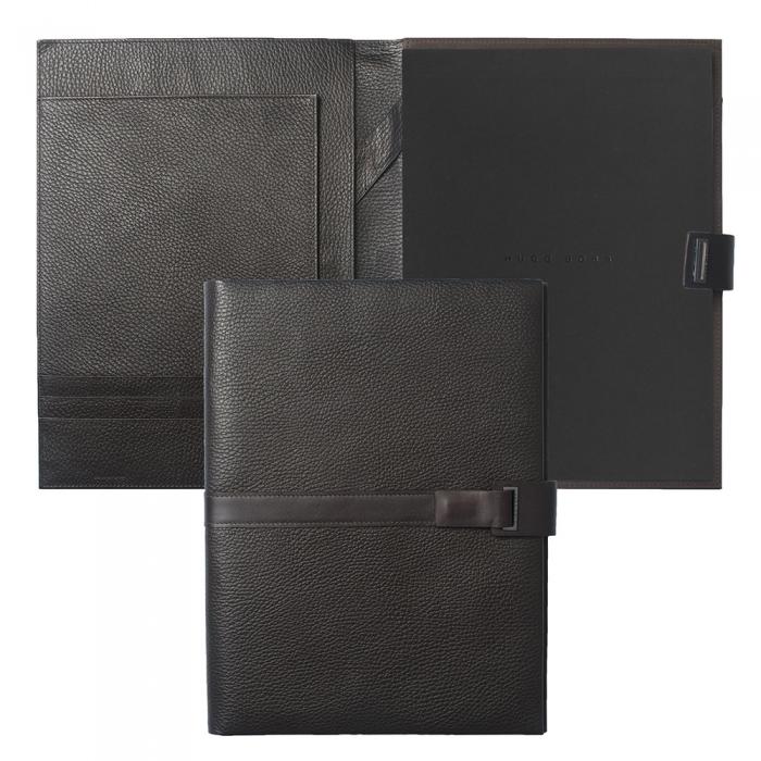 Set Pure Leather Brown Hugo Boss si Cravata Matase 1