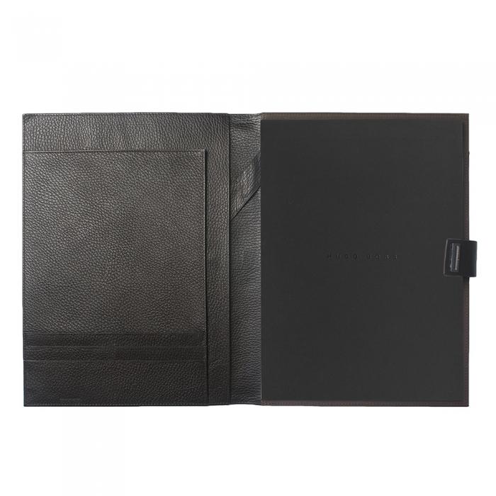 Set Pure Leather Brown Hugo Boss si Cravata Matase 2