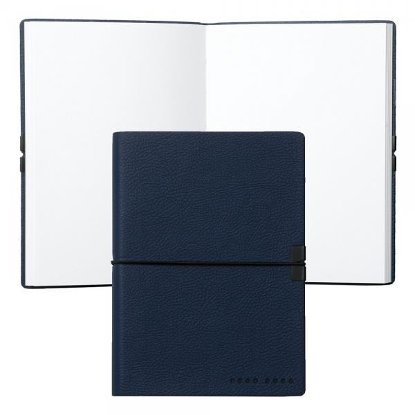 Set CEAS ELECTION PREMIUM SLIM LINE – SILVER L si Note Pad Blue HUGO BOSS-big