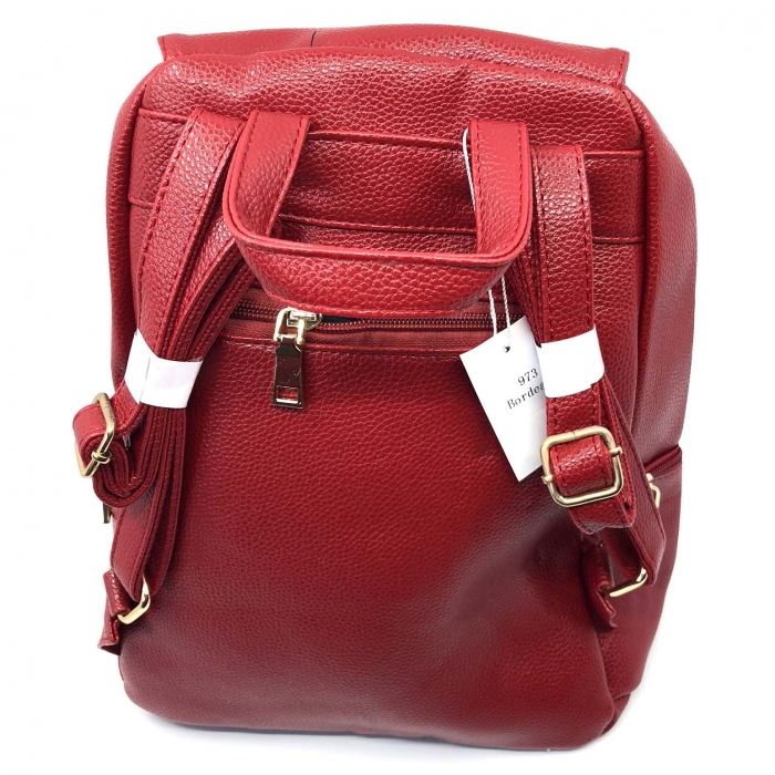Rucsac dama by Borealy,  Trendy  Backpack, din piele ecologica [3]