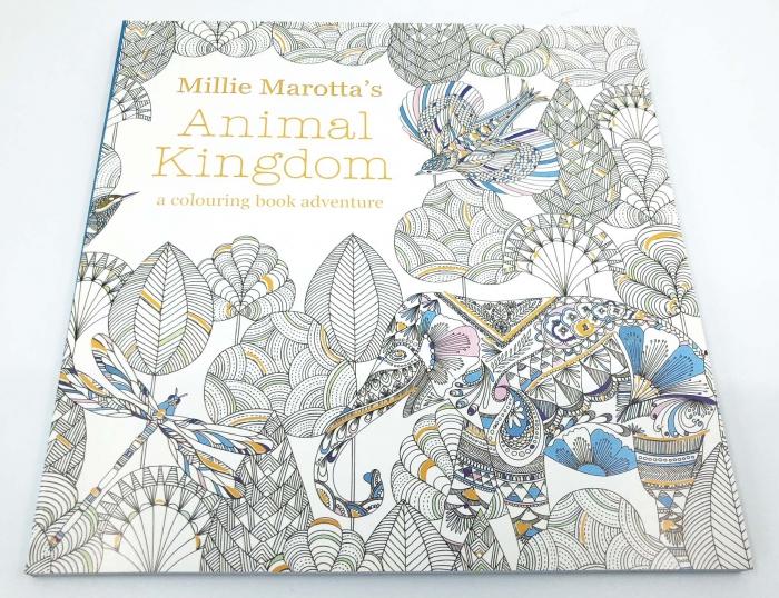 Carte de colorat antistres pentru adulti, Animal Kingdom, by Borealy [0]