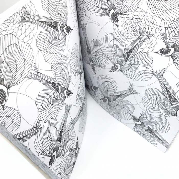 Carte de colorat antistres pentru adulti, Animal Kingdom, by Borealy [2]