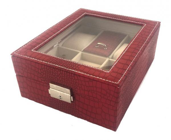 Ceas Red Monceau Cacharel & Cutie de ceasuri si bijuterii Borealy 5