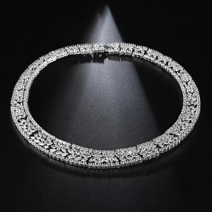 Set Colier si Cercei Luxury Fashion Bride, by Borealy 1