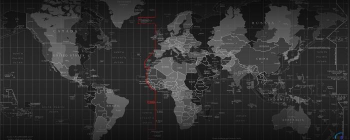 Mouse Pad Profesional World Map - 90 cm x 40 cm [2]
